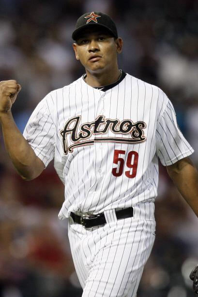 RP. Wilton López. Astros de Houston. El relevista nicaraguense vio acció...