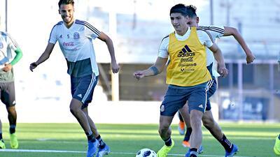 Con Pulido y Layún de titulares, el posible 11 de México para el duelo uno contra Argentina