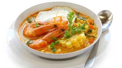 Chupe de camarones con quinoa | Reto 28