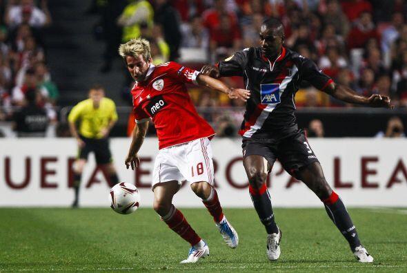 Braga, la sorpresa del torneo, visitó al Benfica.