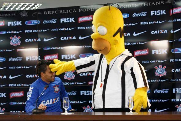 Homero ya había visitado al Corinthians antes de que se realizara el Mun...