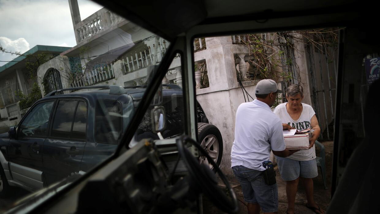Correo Huracán María Puerto Rico