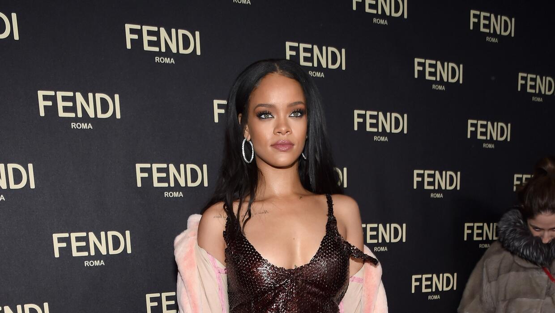 Rihanna FENDI Celebrates The Opening Of The New York Flagship Store