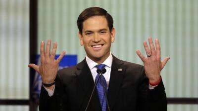 Unas manos, el yoga y otros puntos del debate republicano detroit5.jpg