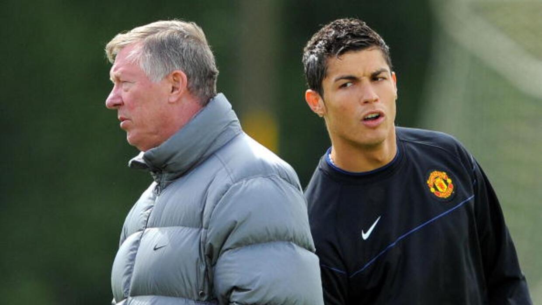 Cristiano Ronaldo, Alex Ferguson