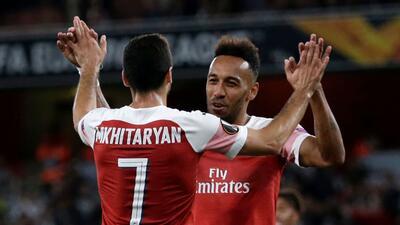 En fotos: las credenciales de Arsenal como gigante en su arranque en la Europa League