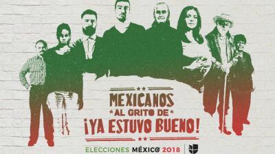 'Mexicanos al grito de ¡ya estuvo bueno!' El nuevo podcast de Univision Noticias