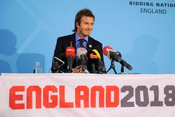 David Beckham es la estrella que presenta Inglaterra para quedarse con e...
