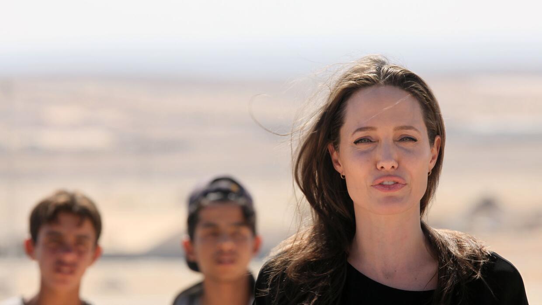 Angelina Jolie no tiene planes de regresar al cine en los próximo...