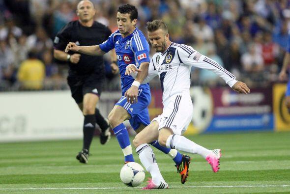 David Beckham de nuevo fue el héroe del Galaxy al darles un punto en Mon...