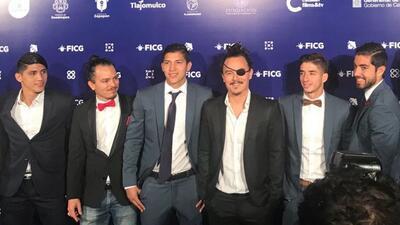 Futbolistas del Rebaño estuvieron presentes en la proyección.