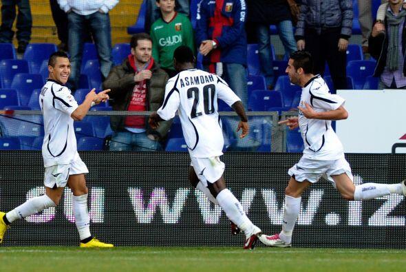 Alexis Sánchez y Germán Denis se unieron a la fiesta y Udinese ganó por...
