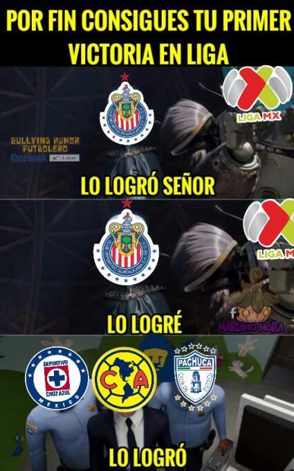 Chivas y Atlas golearon en los memes de la fecha ocho del A2017 chivas-m...