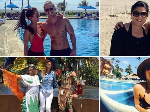 Famosos telenoveleros de vacaciones