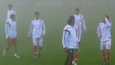 El partido entre Nacional y Benfica fue aplazado