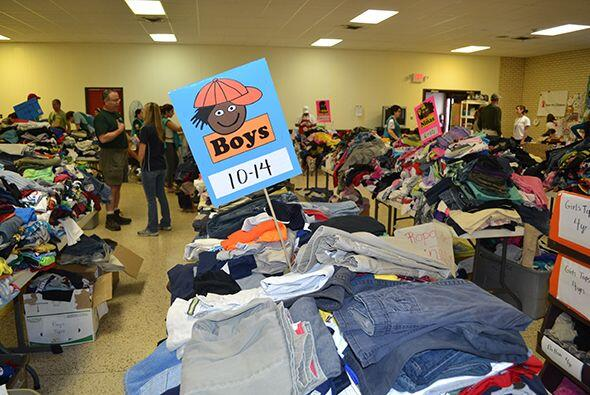 Las organizaciones están en busca de ropa para los pequeños.