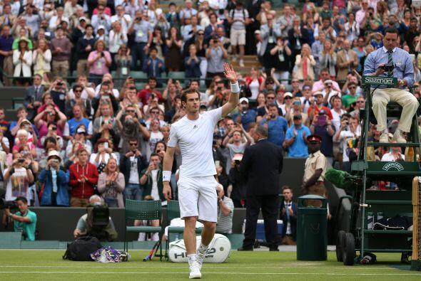 Andy Murray no defraudó a su público y avanzó al derrotar al taiwanés Ye...