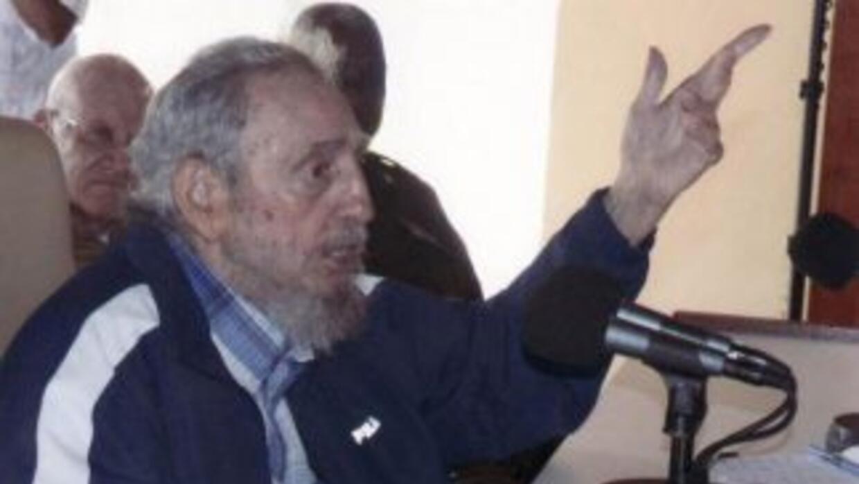 La más reciente aparición pública de Fidel Castro. (Imagen de Granma/Est...