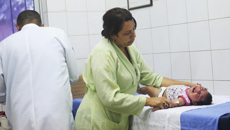 La microcefalia en bebés ha sido vinculada al zika.