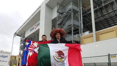 Pasión de hinchas alrededor del estadio: protagonista de la final entre Toronto y Chivas