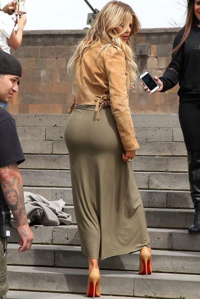 ¡Los famosos atributos Kardashian!