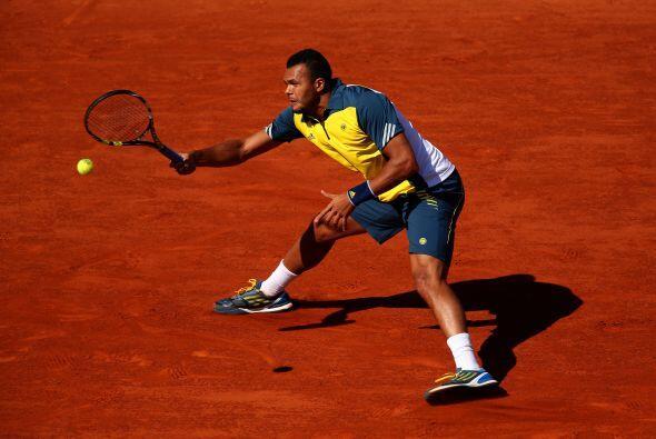 El español no la tendrá fácil, pues tendrá como rival a Jo-Wilfried Tson...