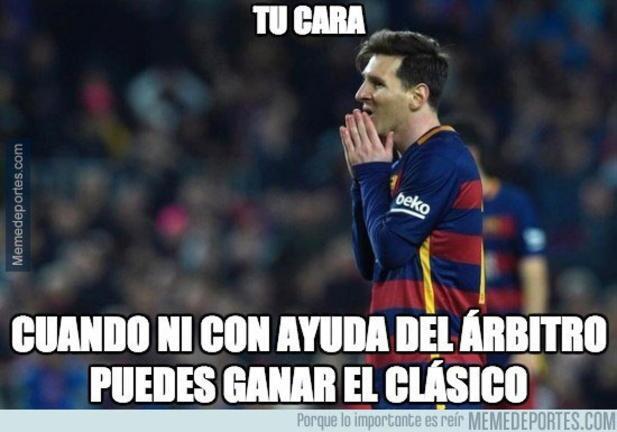 Memes Real MAdrid vs Barcelona