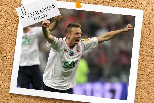 Ya en la mitad del campo, tenemos a Ludovic Obraniak.