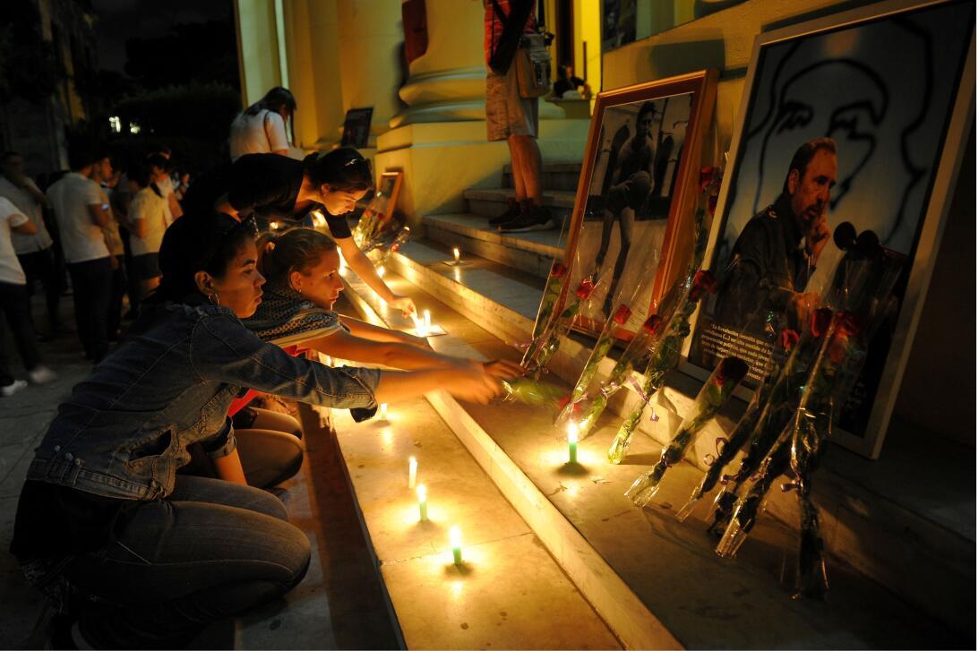 Muere Fidel La Habana