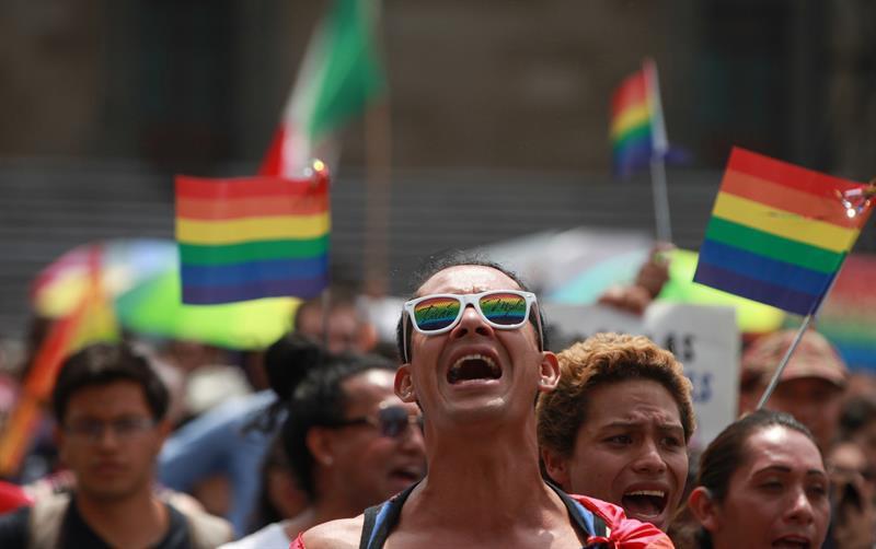 Marcha a favor del Estado laico
