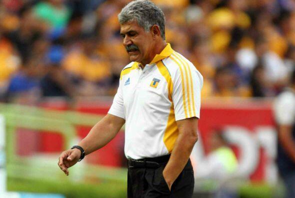 El técnico brasileño cumple su tercera etapa al frente de los felinos, l...