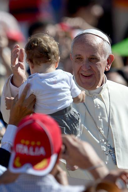 Y también la alegría del Papa Francisco.