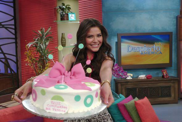 El 26 de julio en Despierta América celebramos el cumple de Ana, ella ag...