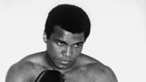 Muhammad Ali, considered by many to be the greatest boxer of all time