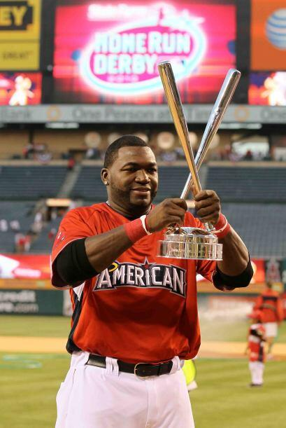 David Ortiz conquistó el Home Run Derby 2010 en batalla final entre dos...
