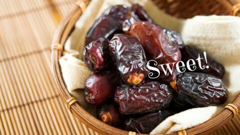 Una fruta típa de Oriente Medio.