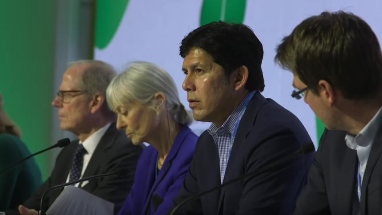 Kevin De Leon en COP21