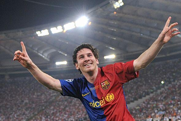 2009: La estafeta quedó en manos de Lionel Messi, que junto a la 'Champi...