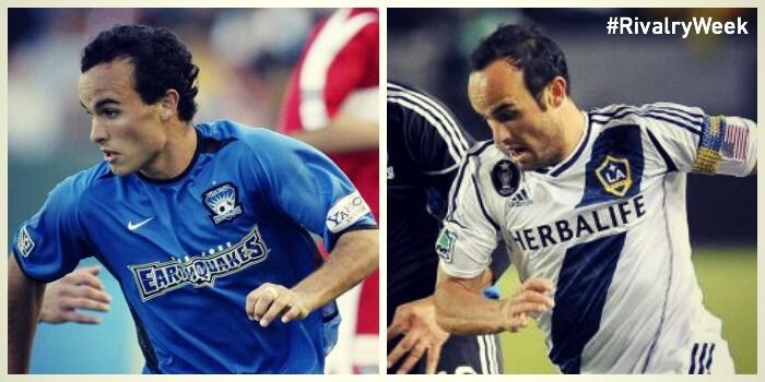 Landon Donovan, LA Galaxy y San Jose Earthquakes