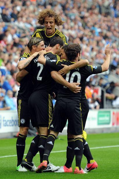 Defensa, Branislav Ivanovic: El lateral del Chelsea tuvo una gran actuac...
