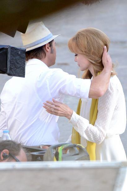 En esta ocasión, Jolie se pasó al bando de las rubias.