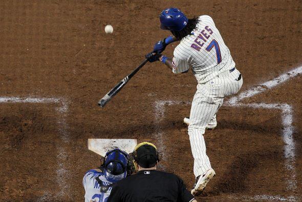 Mención especial: José Reyes, parador en corto de los Mets de Nueva York...