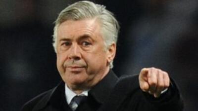 Ancelotti no estuvo de acuerdo con el segundo gol del Barcelona, que lle...