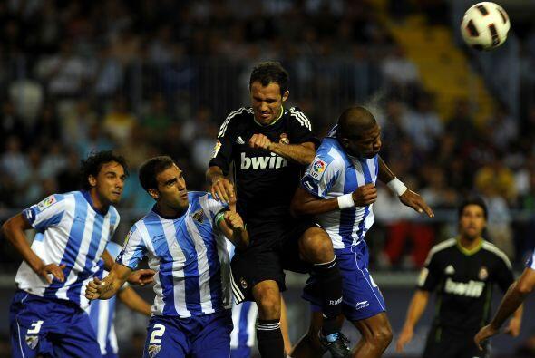 El Málaga tuvo pocas oportunidades, las mejores a cargo del venezolano S...