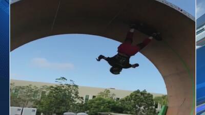 ¡Gravedad cero! Equilibrio, velocidad y nervios de acero sobre una patineta
