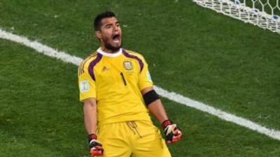 Sergio ROmero aseguró que siempre tuvo confianza en la tanda de penales.