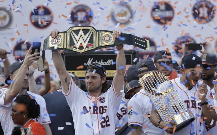 Desfile Houston Astros