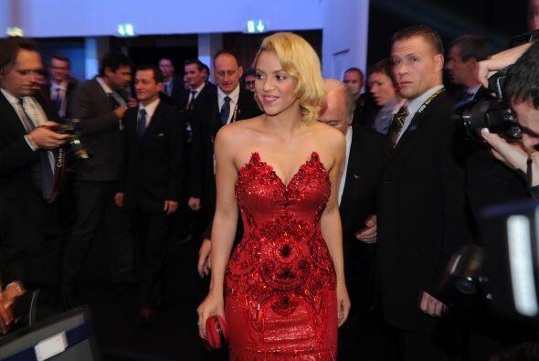 Sin duda alguna, Shakira no deja de ser la máxima sensación donde quiera...