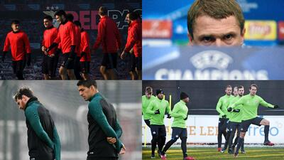 Lo que se juega en la última fecha de los grupos A, B, C y D de la Champions League