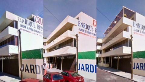 Entre 2009 y 2016 el edificio administrativo del colegio Rébsamen...